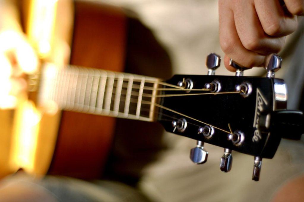 Настроить гитару на слух скачать