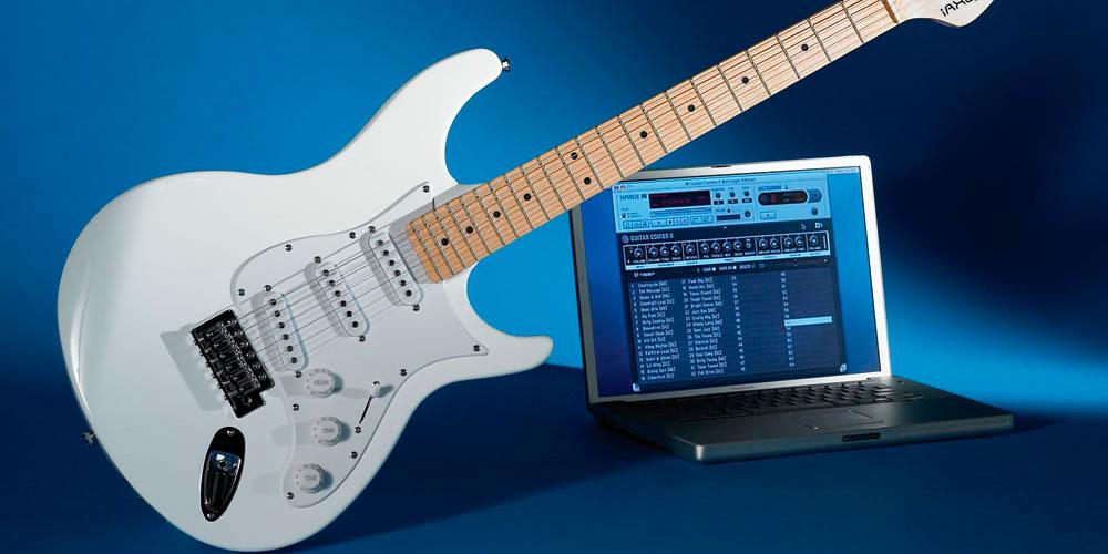 Как играть на электрогитаре через звуковую карту сыграть в игровые автоматы бесплатно о