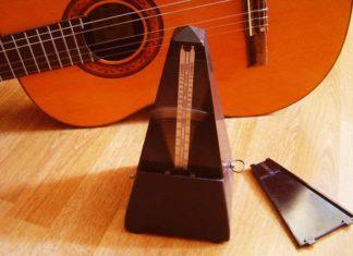 Метроном и гитара