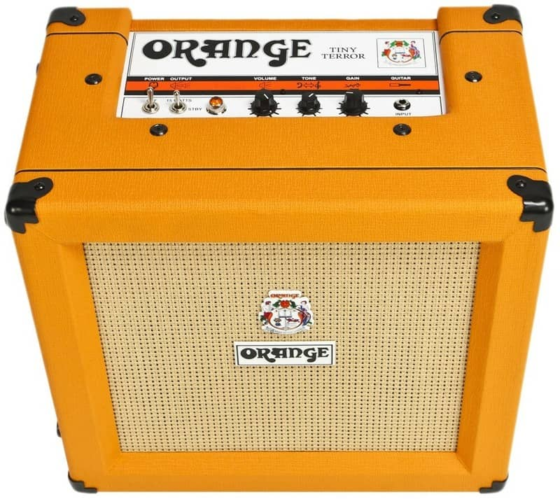 Фото гитарного комбоусилителя Orange Tiny Terror