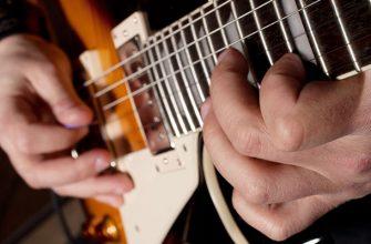 Фото гитары крупным планом